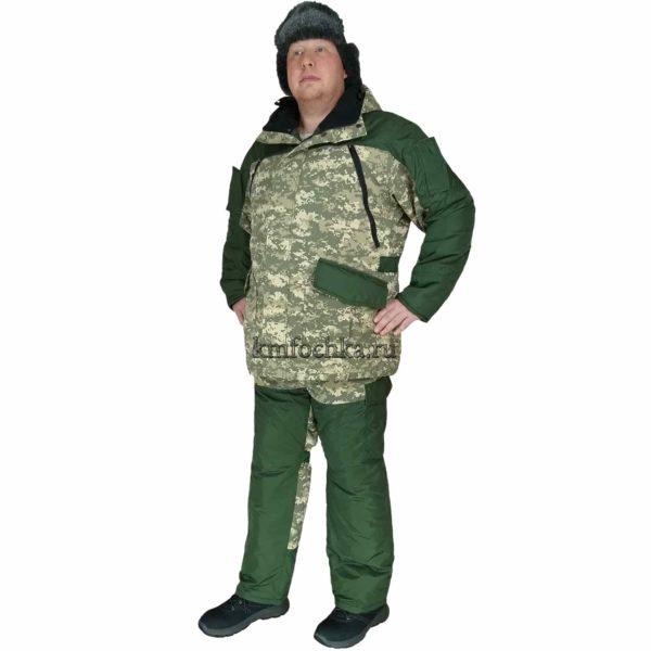 зимний костюм камуфляж мужской