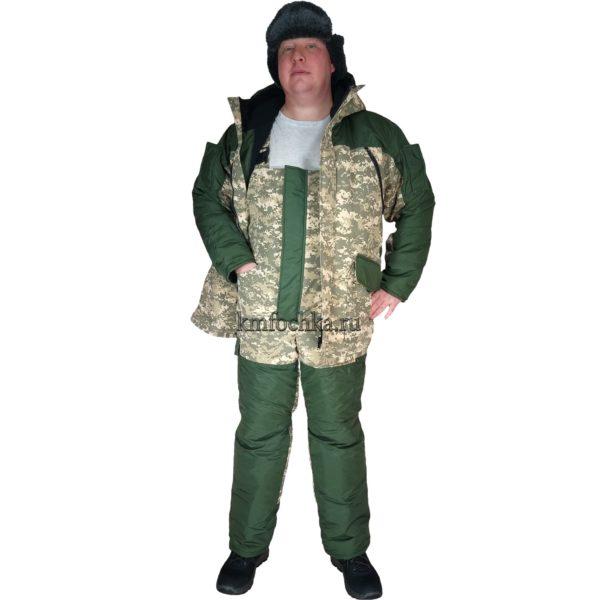 купить зимний костюм камуфляж