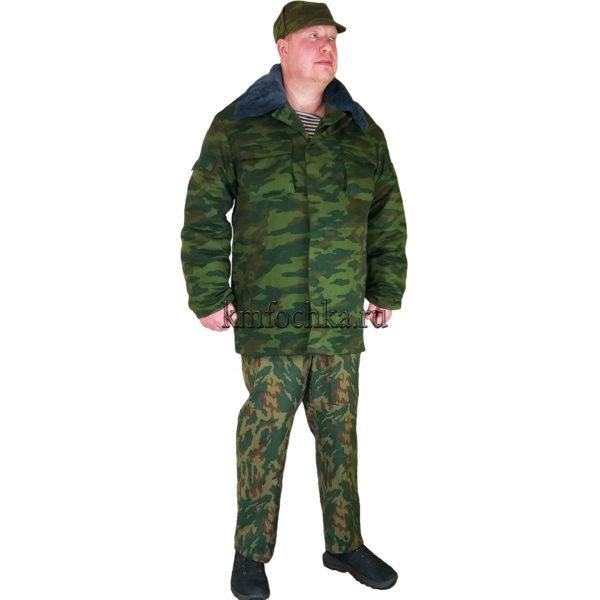 бушлат флора армейский зимний