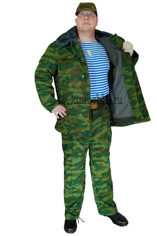 флора костюм военный зимний