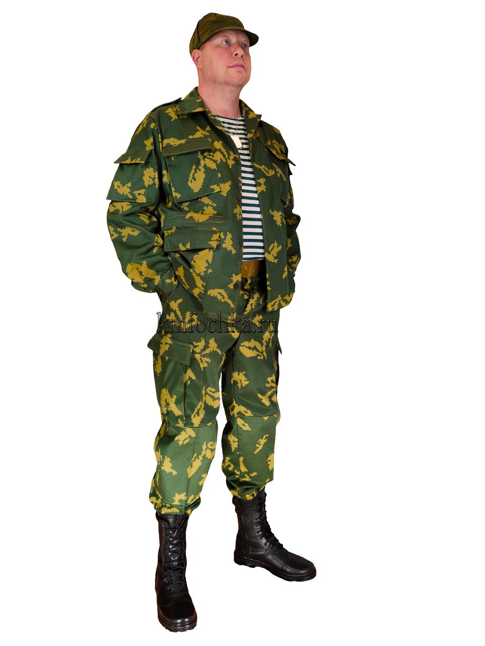 костюм пограничника березка