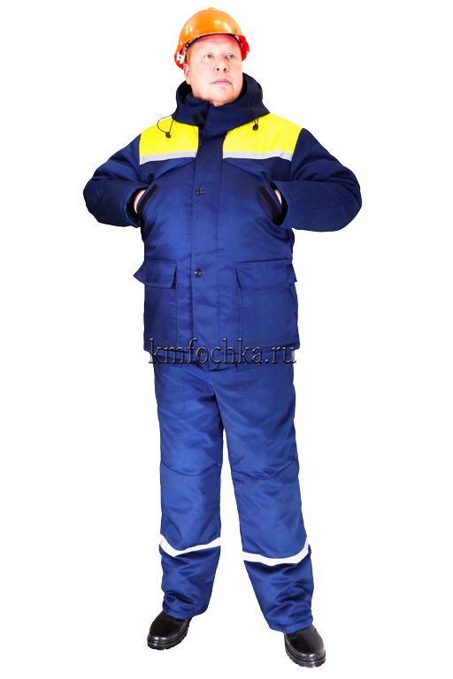 рабочий костюм зимний мужской купить в москве
