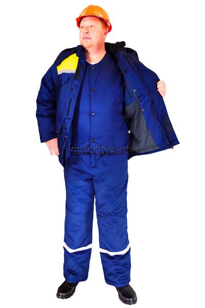 зимний рабочий костюм тройка