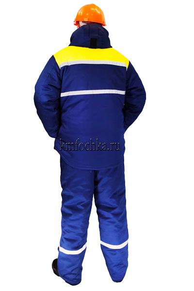 костюм рабочий зимний куртка брюки