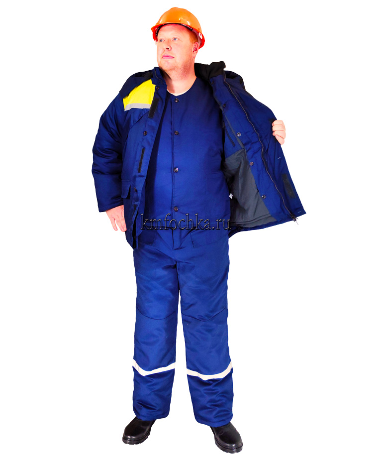 костюм рабочий зимний спб